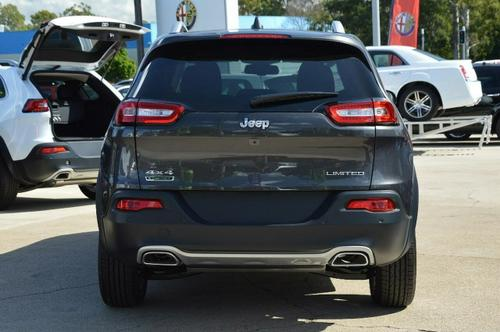 JEEP CHEROKEE Limited KL Limited Wagon 5dr Spts Auto 9sp 4x4 2.0DT [MY15]