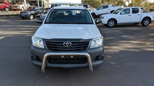 TOYOTA HILUX Workmate TGN16R Workmate Utility Double Cab 4dr Auto 4sp 4x2 2.7i [MY14]