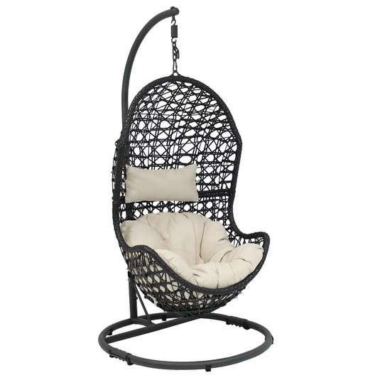 Beige Abrams Hanging Egg Chair Hammock W Stand 2 Loveseat Online Auctions Los Angeles