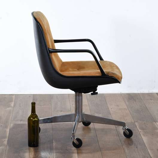 Steelcase Vintage Industrial Hardshell Office Chair Loveseat Online Auctions Los Angeles