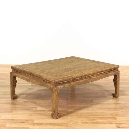 Asian Coffee Table W Chow Legs Loveseat Vintage Furniture Los - Chow coffee table