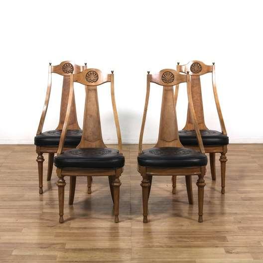 "american of martinsville dining room set | Set Of 4 ""American Of Martinsville"" Dining Chairs ..."