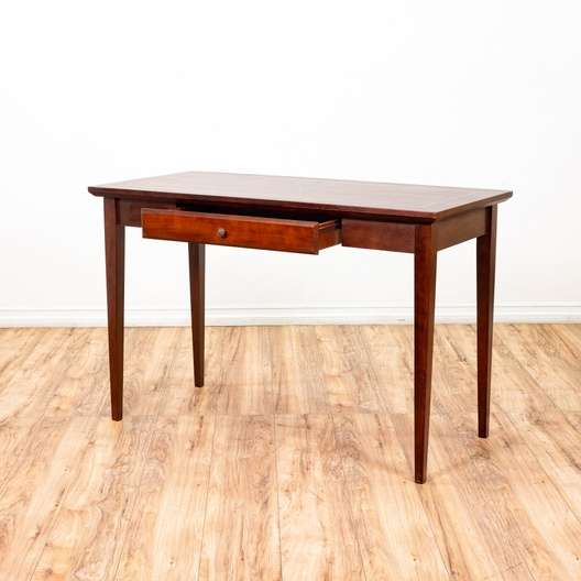 Traditional 1 Drawer Small Desk Dining Table | Loveseat ...