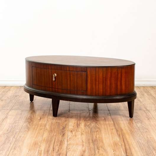 Schnadig Furniture Tribeca Oval Coffee Table
