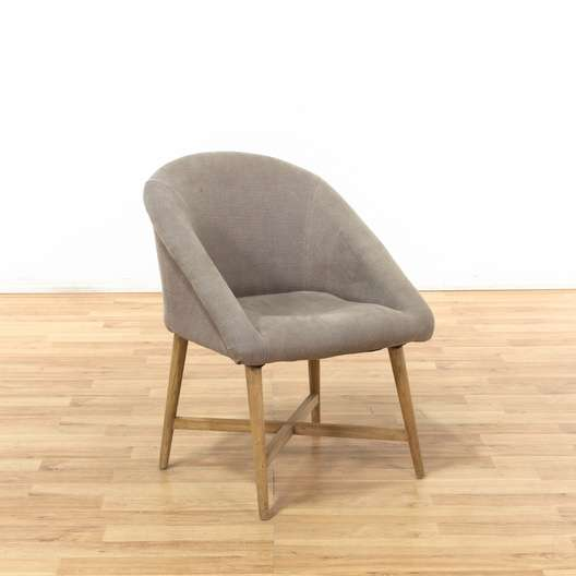 Admirable Contemporary Grey Accent Desk Chair 1 Loveseat Com La Auction Gmtry Best Dining Table And Chair Ideas Images Gmtryco