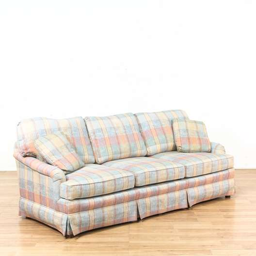 Plaid Sofa And Loveseat Emily Sofa Broyhill Thesofa