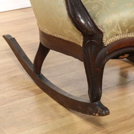 Victorian Rocker Rocking Chair Loveseat Vintage Furniture Los Angeles