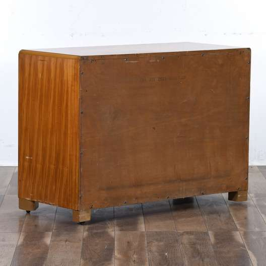 Mid Century Modern Solid Wood Chest Of Drawers Loveseat