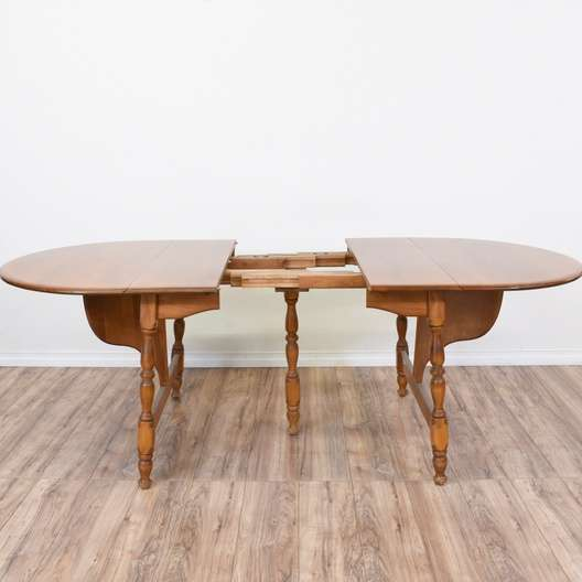 Quot Walter Of Wabash Quot Drop Leaf Dining Table Loveseat