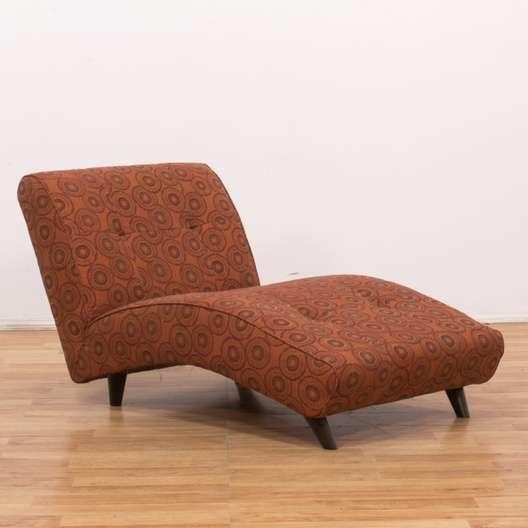 Brilliant Tufted Red Bohemian Upholstery Chaise Lounge Loveseat Creativecarmelina Interior Chair Design Creativecarmelinacom
