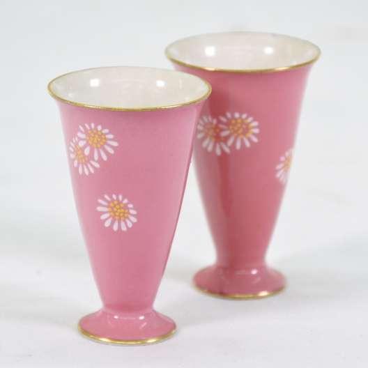 Set 6 Vintage Asian Sherry Cups Loveseat Vintage