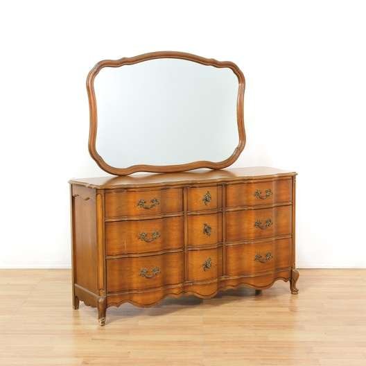 Quot Bassett Quot French Provincial Dresser W Mirror Loveseat