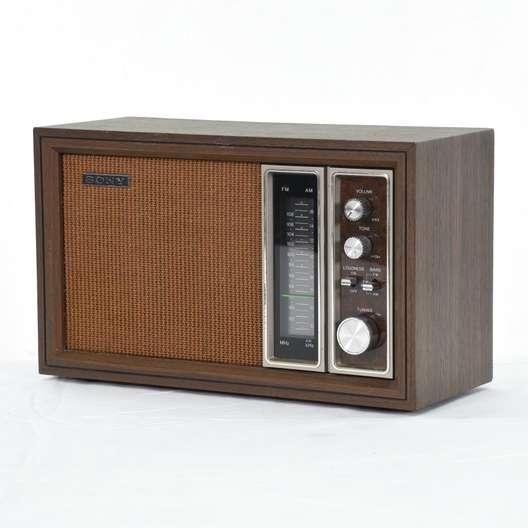 Sony Tfm 9450 Vintage Radio Loveseat Vintage Furniture