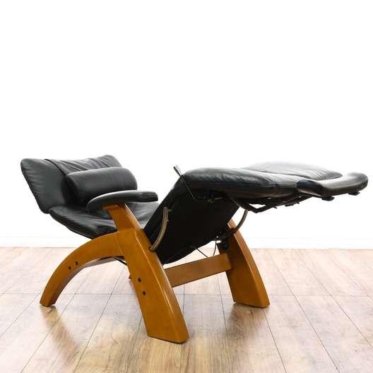 Enjoyable Human Touch Zero Gravity Black Recliner Loveseat Vintage Evergreenethics Interior Chair Design Evergreenethicsorg