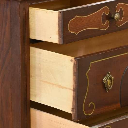 1920 S Depression Era Dresser Vanity Loveseat Vintage