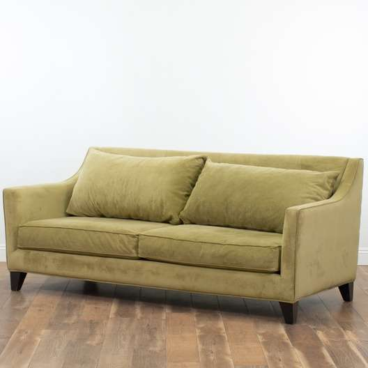 Superb Contemporary Tarragon Microfiber Sofa Loveseat Vintage Gmtry Best Dining Table And Chair Ideas Images Gmtryco