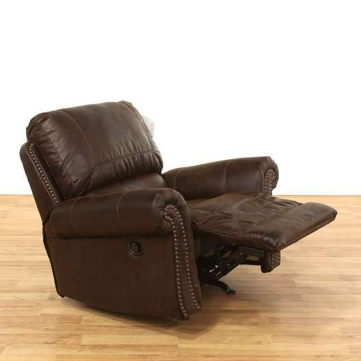 Terrific Benchcraft Conesville Leather Manual Rocker Recliner Alphanode Cool Chair Designs And Ideas Alphanodeonline