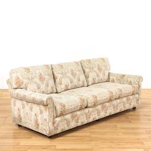 Cottage Chic Fl Tapestry Sofa