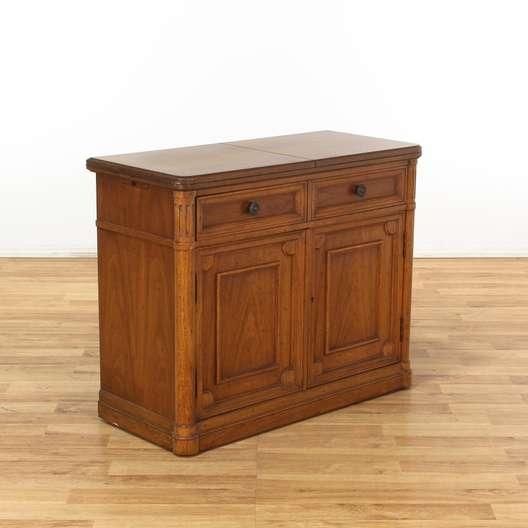 Drexel Heritage Server Bar Cabinet W Top Drawer