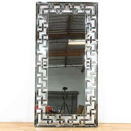 Z Gallerie Floor Mirror Santorini Loveseat Vintage