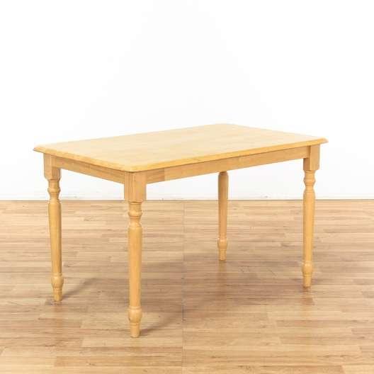 Light Wood Simple Kitchen Table