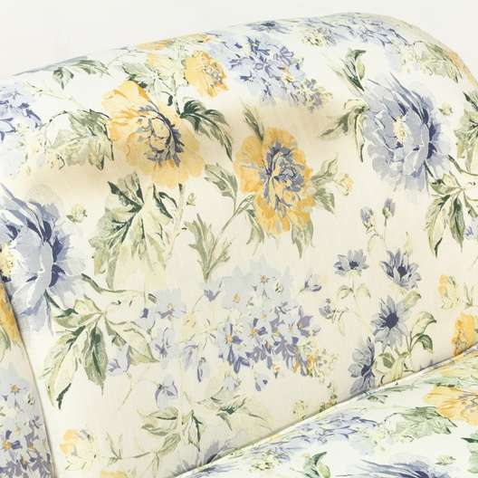 Blue Amp Yellow Cottage Chic Floral Sofa Couch Loveseat