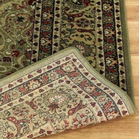 """Persian Rug Los Angeles: """"Moren Oriental Rugs"""" Green Oriental Wool Area Rug"""