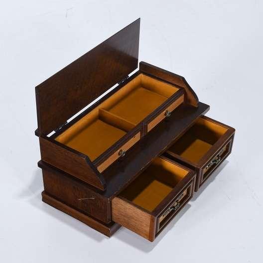 Vintage Men S Furnishings Jewelry Box Loveseat Vintage