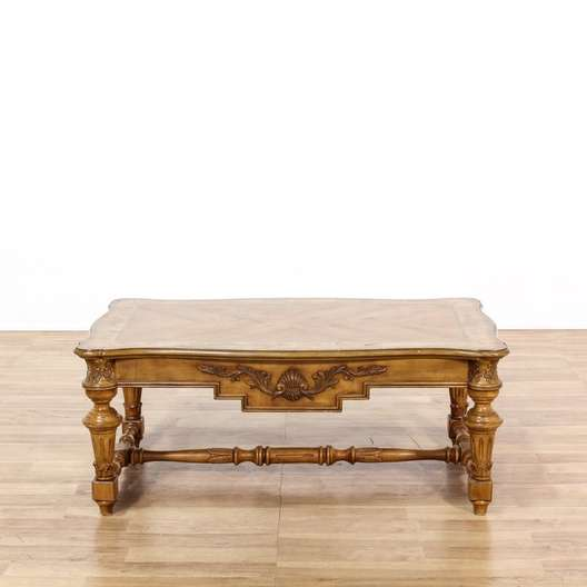 Decorative provincial style coffee table loveseat for 60s style coffee table