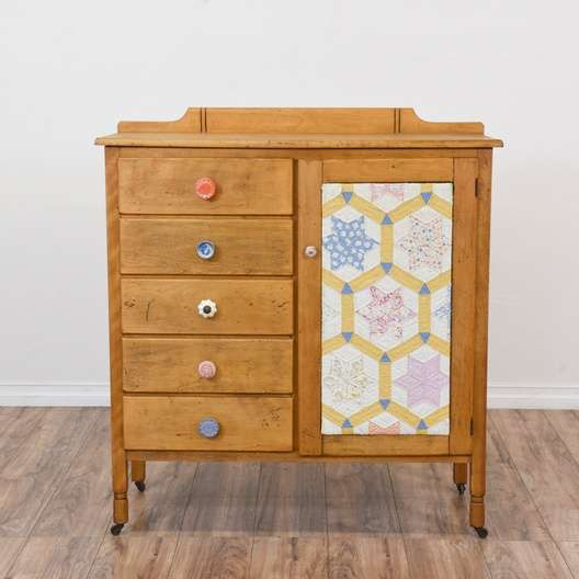 Antique Child S 5 Drawer Dresser Armoire Loveseat Vintage Furniture San Diego