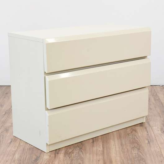 Lane White Mid Century Modern Chest Of Drawers