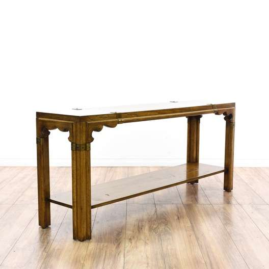 sports shoes b04a5 b61b8 Bohemian 2 Tier Console Table | Loveseat Vintage Furniture ...