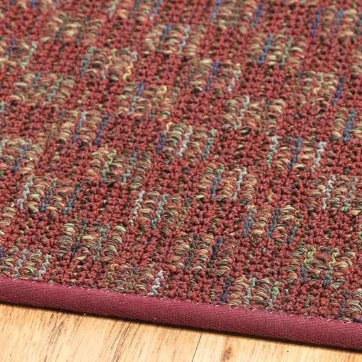 Checkerboard Area Rug: Red & Tan Checkered Area Rug
