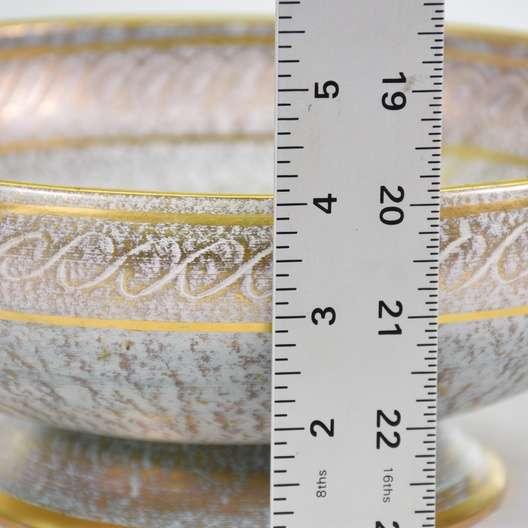 Stangl Pottery Vintage Decorative Compote Bowl Loveseat