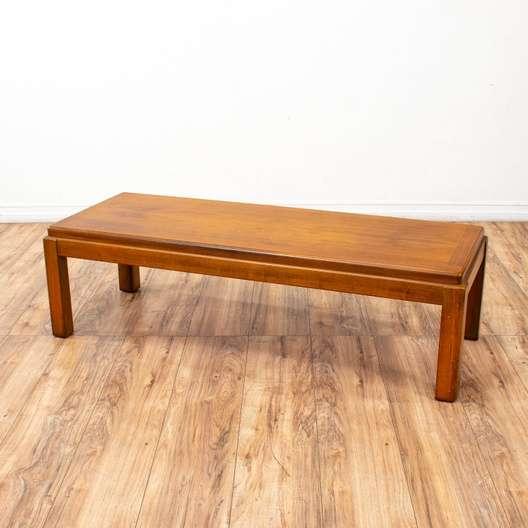 Lane Traditional Long Coffee Table