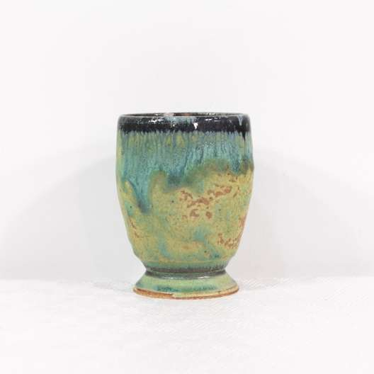 Blue Drip Glaze Studio Pottery Vase | Loveseat com Los Angeles