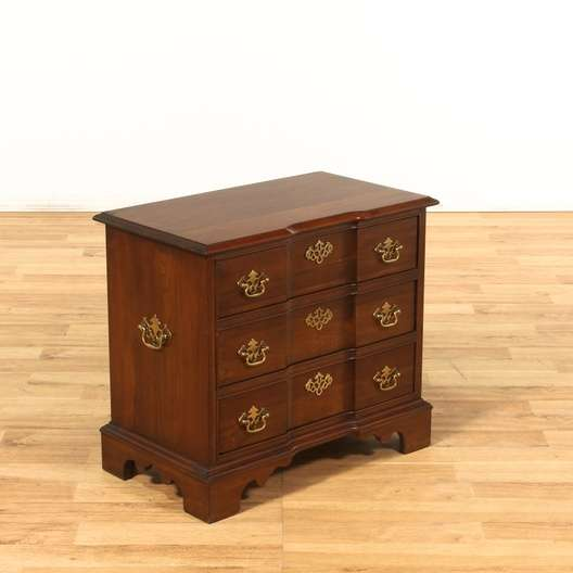 Pennsylvania House 3 Drawer Traditional Nightstand
