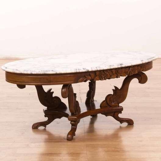 Kimball Marble Coffee Table