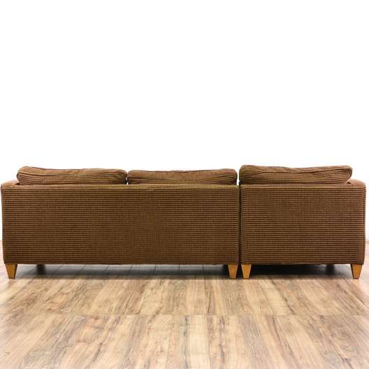Superb Ethan Allen Mid Century Modern Sofa W Chaise Loveseat Gmtry Best Dining Table And Chair Ideas Images Gmtryco