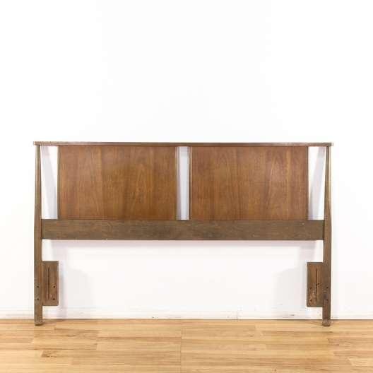 Super Mid Century Modern Queen Size Headboard Loveseat Vintage Uwap Interior Chair Design Uwaporg