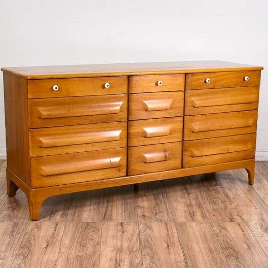 Franklin Shockey Mid Century Modern Long Dresser