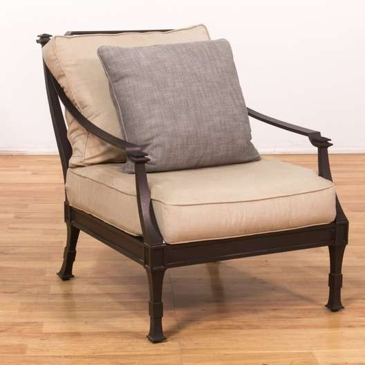 Restoration Hardware Outdoor Patio Chair 1 Loveseat Vintage