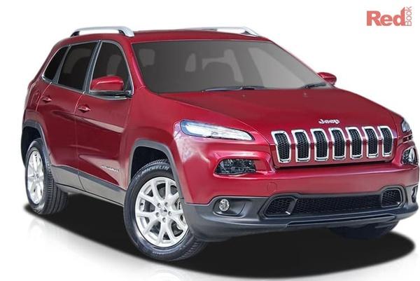 Jeep Cherokee Longitude MY17 Cherokee Longitude from $35,450 drive away