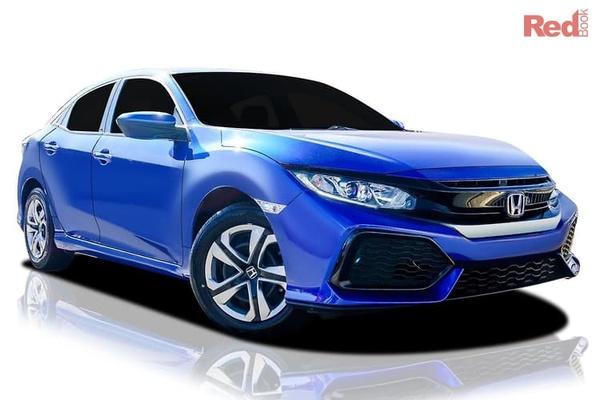Honda Civic VTi Civic Hatch VTi auto from $24,990 drive away plus Free 7-Year Unlimited KM Warranty & 7-Year Premium Roadside Assist