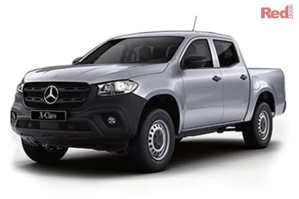 Mercedes-Benz X-Class X220d  X-Class 4-cylinder models - On roads and GST