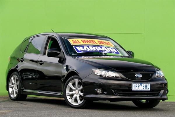 2008 Subaru Impreza Sti First Official Image