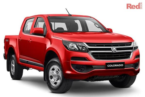 Holden Colorado LS Colorado LS 4x4 Crew Cab Pick Up manual from $39,990 drive away