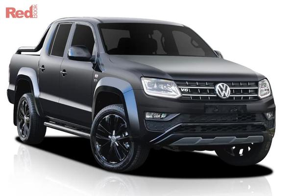 Volkswagen Amarok TDI580 Amarok V6 Highline Black 4x4 Dual Cab TDI580 auto from $65,990 drive away