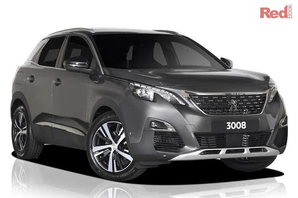 Peugeot 3008 GT Line MY19 3008 GT Line SUV from $48,990 drive away