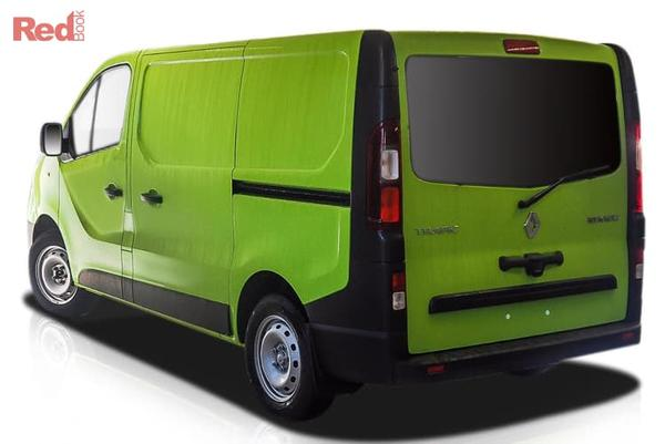 Renault Trafic 85kW  Trafic SWB 85kW turbo manual from $34,990 drive away (ABN buyers only)